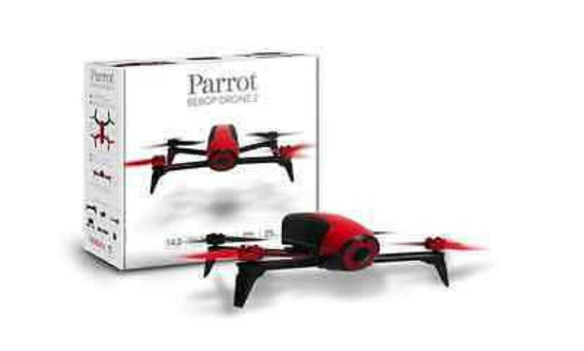 Parrot Bebop 2 Drone - piros Follow Me PF726000