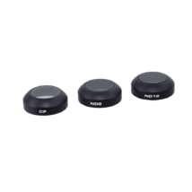 Mavic Pro Filter 3-Pack (CP, ND8, ND16)  (Filter Hardcase included)
