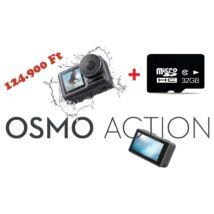 DJI OSMO ACTION AKCIÓKAMERA (2 ÉV GARANCIÁVAL) + ajándék memóriakártya 32GB