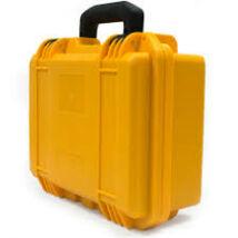 DJI Spark safety carrying case - merevfalú vízálló, biztonsági kézi bőrönd - sárga