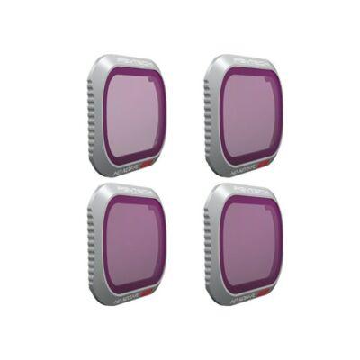 PGYTECH Filter for MAVIC 2 PRO - ND/PL SET (Professional) (ND8/PL   ND16/PL   ND32/PL ND64/PL)