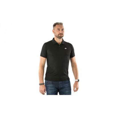 DJI Black Polo-Shirt(XXXL) - DJI galléros póló - fekete