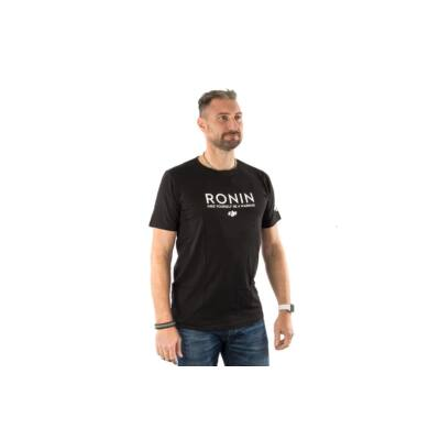 DJI Ronin Black T-Shirt (XXXL) - DJI Ronin kereknyakú póló (XXXL) - fekete