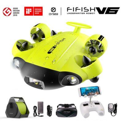 FIFISH V6 Vízalatti drón beépített kamerával