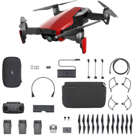 DJI Mavic Air Fly more Combo Red