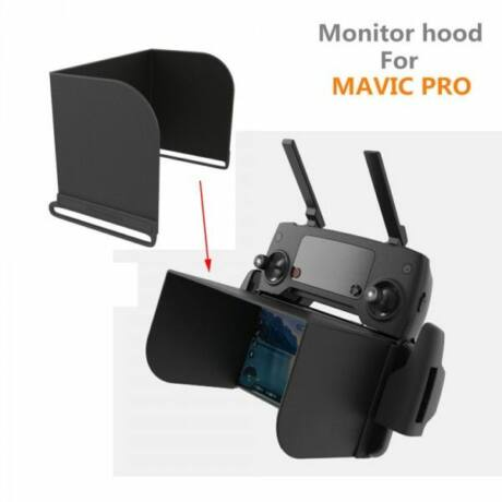 PGYTECH L111 Monitor árnyékoló  Mavic RC Monitor Hood for  iPhone6/7;Samsung S6/S7/S6 edge/S7 Edge;MIUI 5/4/4C screen size<111mm