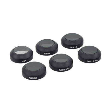 PolarPro Mavic Pro Filter 6-Pack (CP, ND8, ND16, ND32, ND8-PL, ND16-PL)  (Filter Hard Case Included)