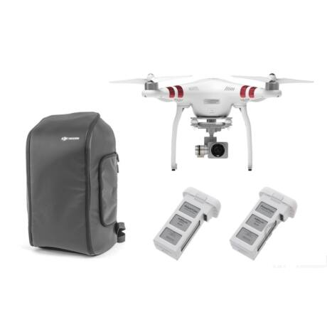 DJI - Phantom 3 Standard refurbished + 2 extra batteries + Incase DJI Phantom Pro Pack