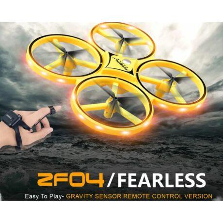 Csuklóról irányítható 4 tengelyes mini drón