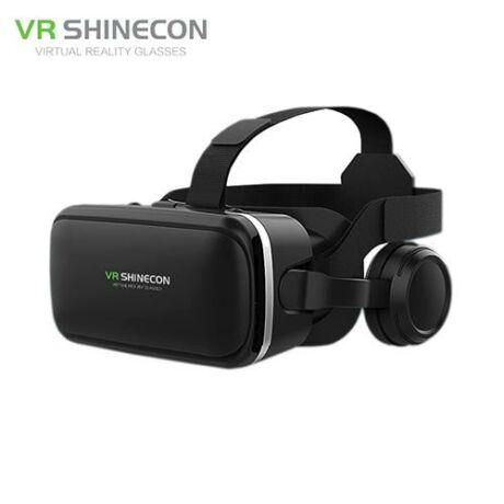 VR Shinecon 6.0 virtuális szemüveg beépített headsettel