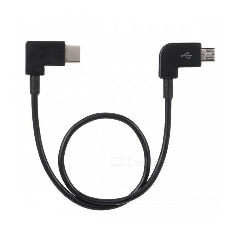 DJI kontroller összekötő kábel (micro USB / C)  25,5cm kábel távirányítóhoz