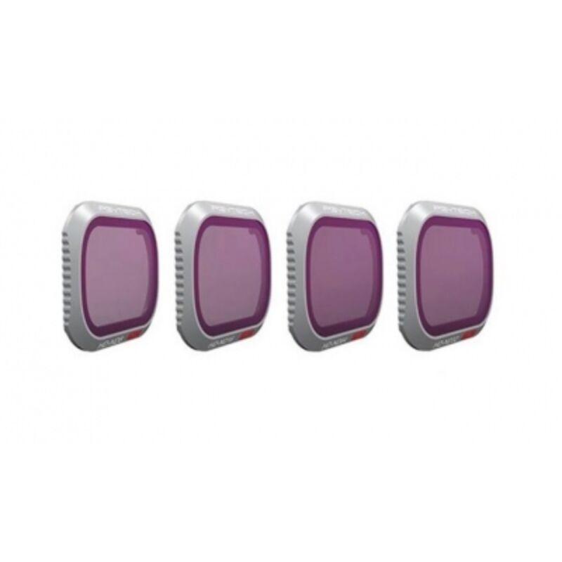 PGYTECH szűrő Mavic 2 Prohoz - ND/PL szett (Professional) (ND8/PL, ND16/PL, ND32/PL, ND64/PL)