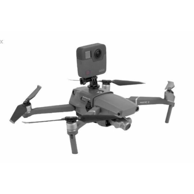 Osmo Action - Extension Adapter on Mavic 2