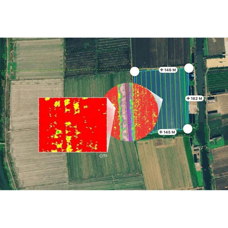 DJI P4 Multispectral + D-RTK 2 High Precision GNSS Mobile Station Combo